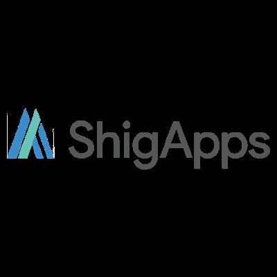 株式会社 | ShigApps株式会社は、G Suiteなどのクラウドサービスの販売ならびに情報共有コンサルティングを通じて、御社のはたらくをイノベーションするお手伝いをしております。ロゴ